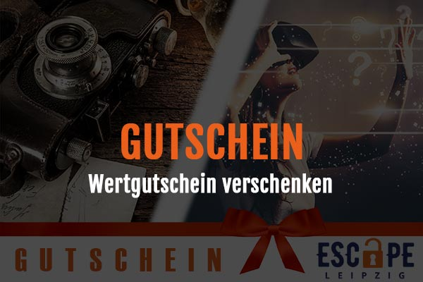 Gutschein Escape Room und Virtual Reality Leipzig