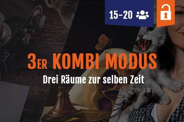 Drei Escape Räume Leipzig