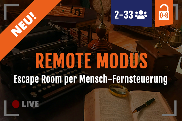 Remote Escape Room Modus