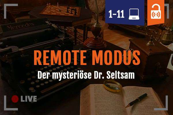 Remote Escape Room Game Dr. Seltsam