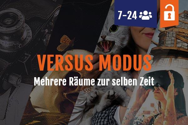 Versus Modus Mehrere Escape Räume Leipzig